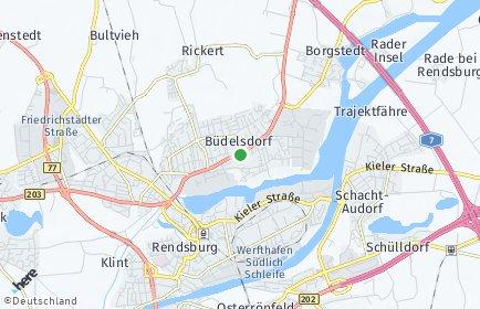 Stadtplan Büdelsdorf