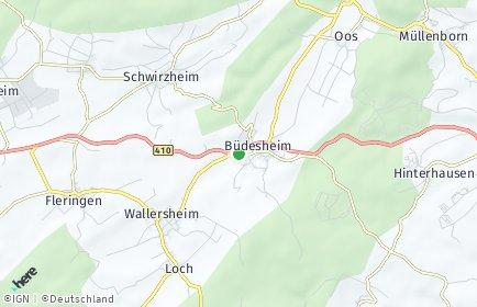 Stadtplan Büdesheim
