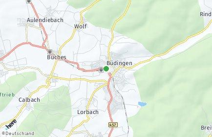 Stadtplan Büdingen