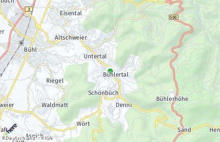 Stadtplan Bühlertal