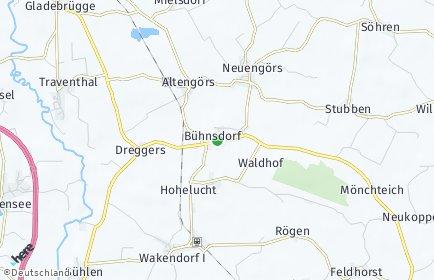 Stadtplan Bühnsdorf