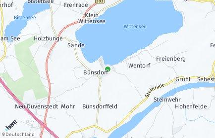Stadtplan Bünsdorf