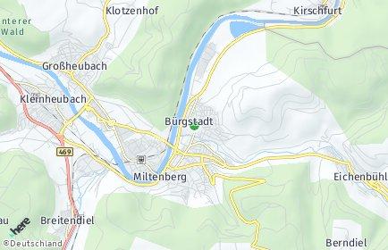 Stadtplan Bürgstadt