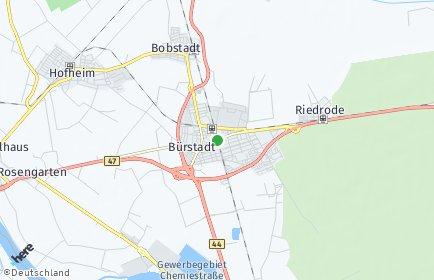 Stadtplan Bürstadt