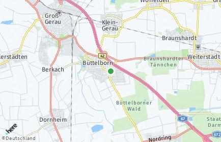 Stadtplan Büttelborn
