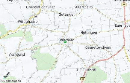 Stadtplan Bütthard