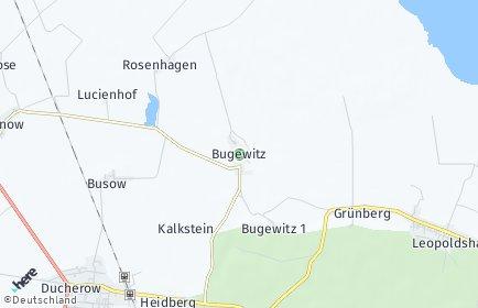 Stadtplan Bugewitz