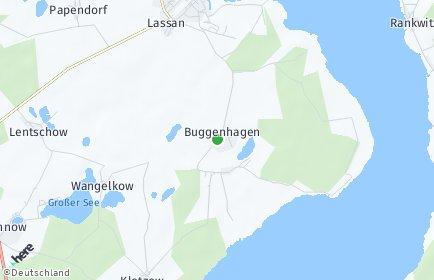 Stadtplan Buggenhagen