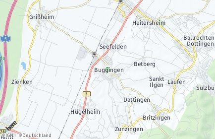 Stadtplan Buggingen