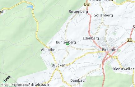 Stadtplan Buhlenberg