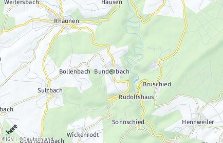 Stadtplan Bundenbach