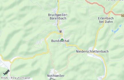 Stadtplan Bundenthal
