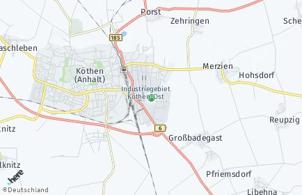 Stadtplan Anhalt-Bitterfeld
