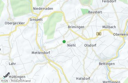 Stadtplan Burg (Eifel)