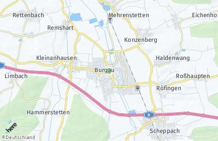 Stadtplan Burgau
