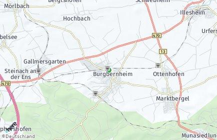 Stadtplan Burgbernheim