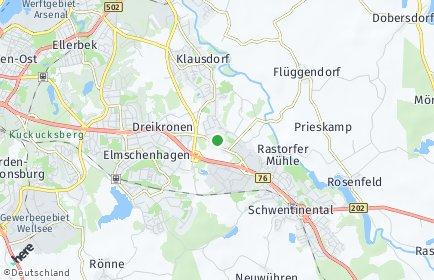 Stadtplan Schwentinental