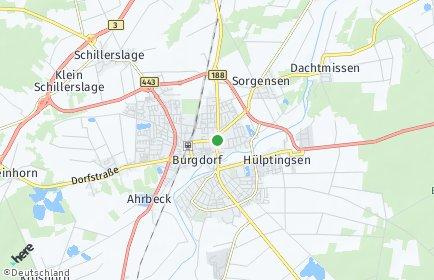 Stadtplan Burgdorf (Region Hannover)