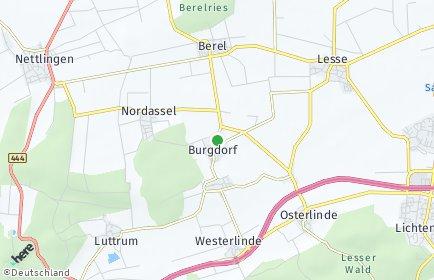 Stadtplan Burgdorf (Kreis Wolfenbüttel)