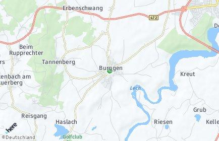 Stadtplan Burggen