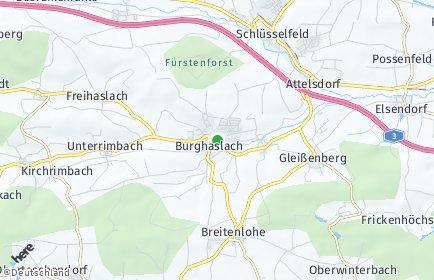 Stadtplan Burghaslach