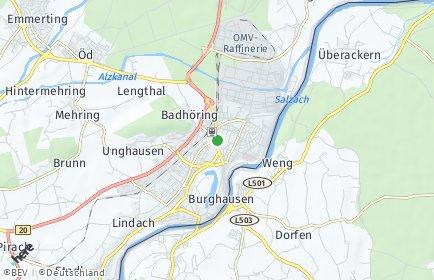Stadtplan Burghausen