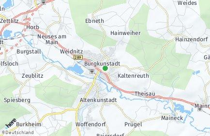 Stadtplan Burgkunstadt