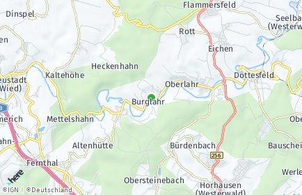 Stadtplan Burglahr