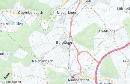 Stadtplan Burglauer
