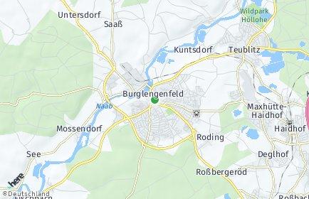 Stadtplan Burglengenfeld
