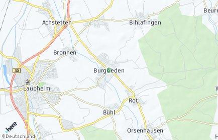 Stadtplan Burgrieden