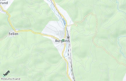 Stadtplan Burgsinn