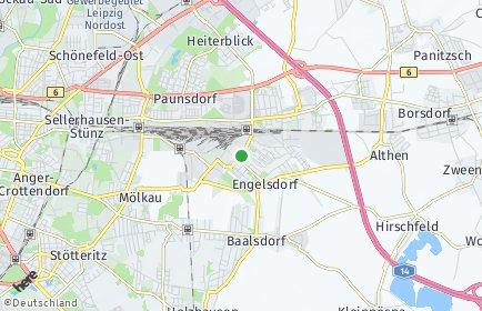 Stadtplan Leipzig OT Engelsdorf