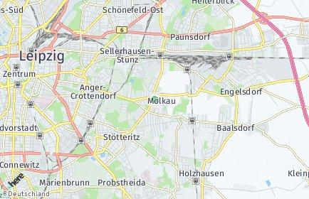 Stadtplan Leipzig OT Mölkau