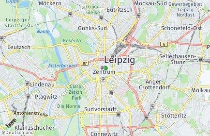 Stadtplan Leipzig OT Zentrum