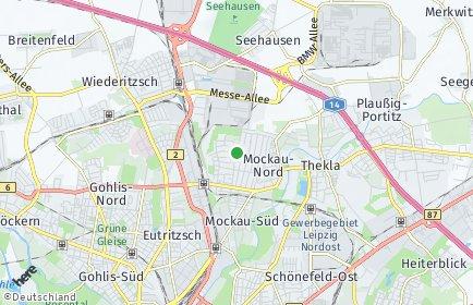 Stadtplan Leipzig OT Mockau-Nord