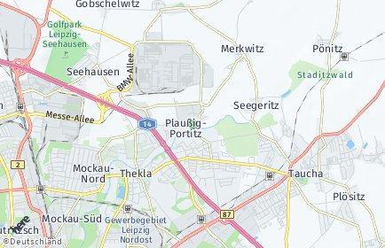 Stadtplan Leipzig OT Plaußig-Portitz