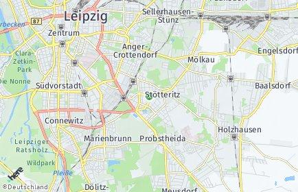 Stadtplan Leipzig OT Stötteritz