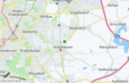 Stadtplan Leipzig OT Holzhausen