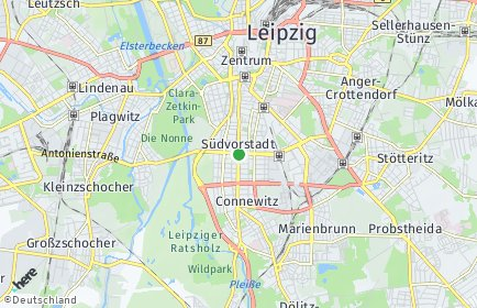 Stadtplan Leipzig OT Südvorstadt