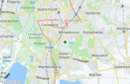 Stadtplan Leipzig OT Lößnig