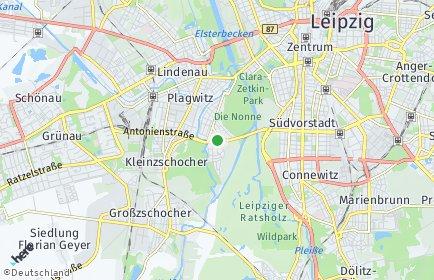 Stadtplan Leipzig OT Schleußig