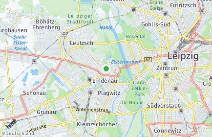 Stadtplan Leipzig OT Altlindenau