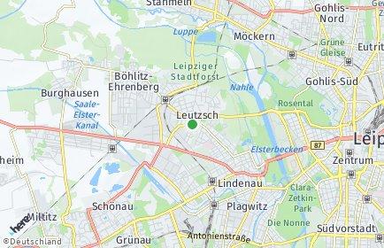 Stadtplan Leipzig OT Leutzsch