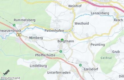 Stadtplan Burgthann