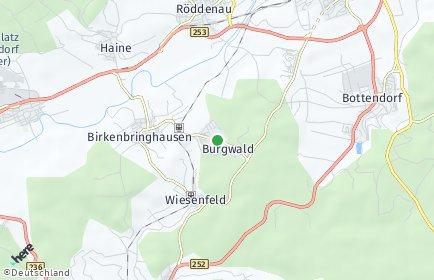 Stadtplan Burgwald
