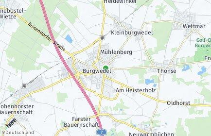Stadtplan Burgwedel