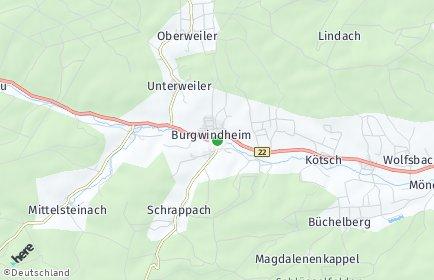 Stadtplan Burgwindheim