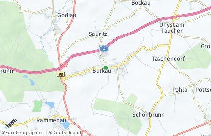 Stadtplan Burkau