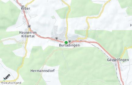 Stadtplan Burladingen